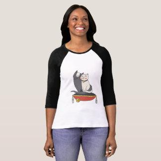 Camiseta Gatos lindos de los pares