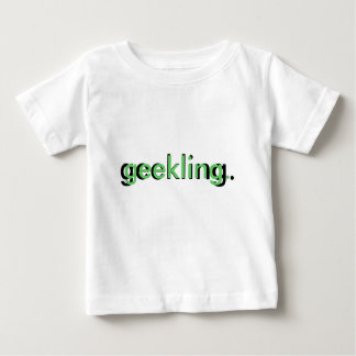 camiseta geekling del niño
