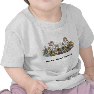 Camiseta gemela de los bebés