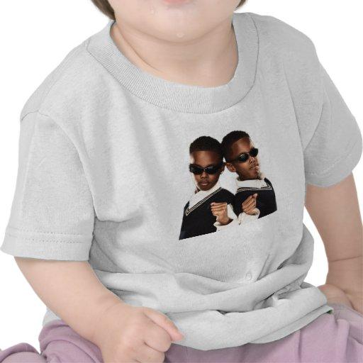 Camiseta gemela del bebé
