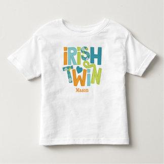 Camiseta gemela irlandesa para los niños