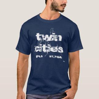 Camiseta gemelo, MPLS, SAN PABLO, ciudades