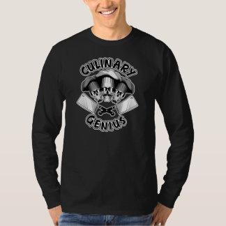 Camiseta Genio culinario: Cráneos v1 del carnicero