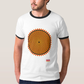 Camiseta Geometry sun OHOHUIHCAN