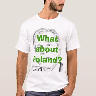 Camiseta George W. Bush y Polonia