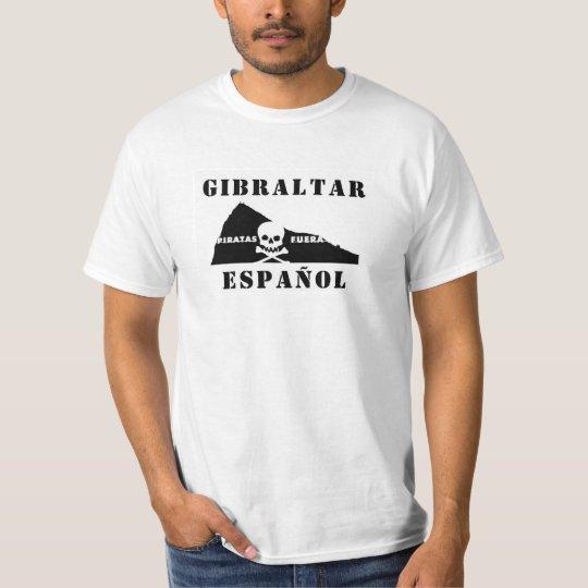 CAMISETA GIBRALTAR ESPAÑOL