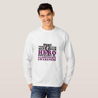 Camiseta GIF de la ayuda de la conciencia de Alzheimer