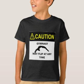 Camiseta Gimnasta de la precaución