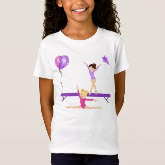 Camiseta gimnástica de los chicas