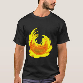 Camiseta Girasol hermoso por la materia de Doug