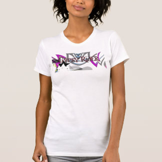 Camiseta gitana del logotipo del jinete