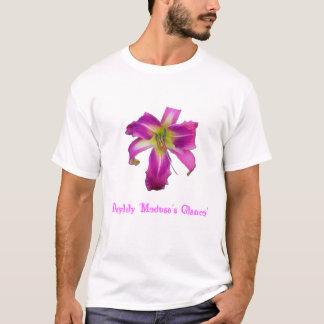 Camiseta Glance de la medusa del Daylily '