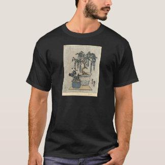 Camiseta Glicinias Potted - Eisen Ikeda - 1818 - grabar en