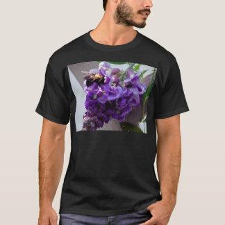 Camiseta Glicinias y abeja