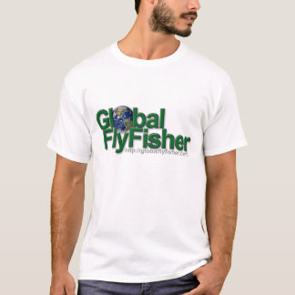 Camiseta global del logotipo de FlyFisher