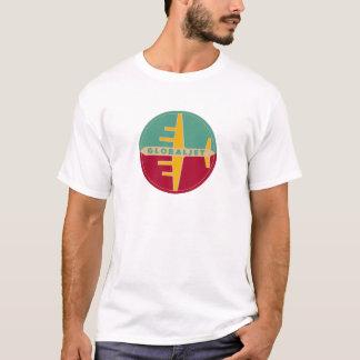 """Camiseta """"GlobalJet """" de la edad del jet del"""