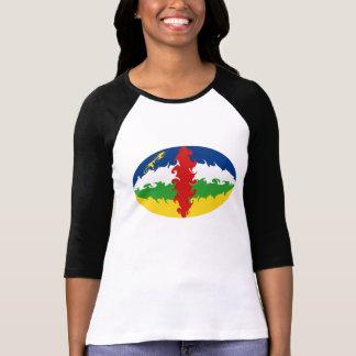Camiseta Gnarly de la bandera de Centrafrique