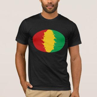 Camiseta Gnarly de la bandera de Conakry de Guinea