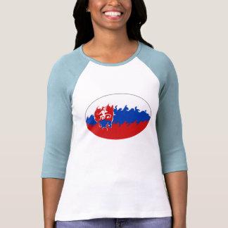 Camiseta Gnarly de la bandera de Eslovaquia