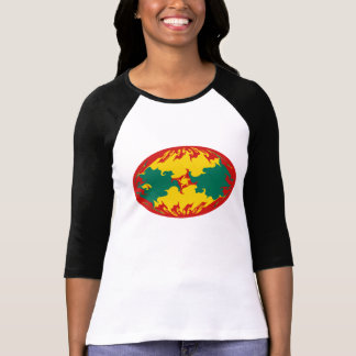 Camiseta Gnarly de la bandera de Grenada