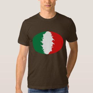Camiseta Gnarly de la bandera de Italia