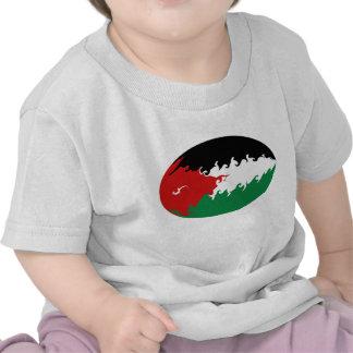 Camiseta Gnarly de la bandera de Jordania