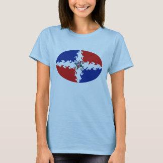 Camiseta Gnarly de la bandera de la República