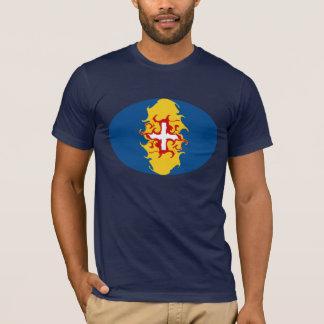 Camiseta Gnarly de la bandera de Madeira