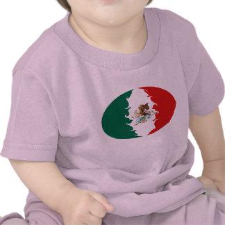 Camiseta Gnarly de la bandera de México