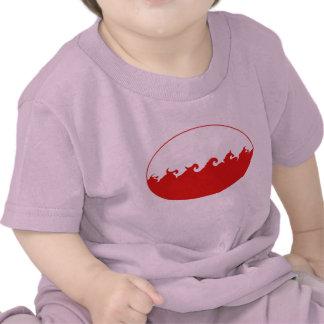 Camiseta Gnarly de la bandera de Polonia
