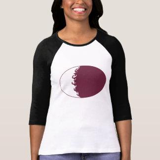Camiseta Gnarly de la bandera de Qatar