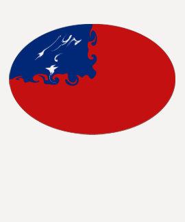 Camiseta Gnarly de la bandera de Samoa