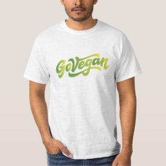 Camiseta Go vegan