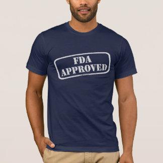 Camiseta Gobierno aprobado por la FDA am1 de la Agencia de