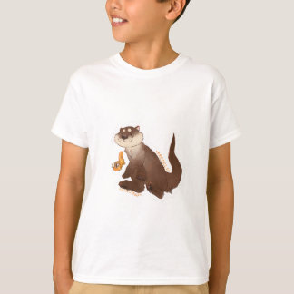 Camiseta Goldfish del n de la nutria