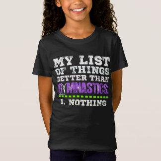 Camiseta Golly chicas: La lista de cosas mejora que la