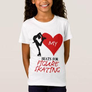 Camiseta Golly chicas - mis golpes de corazón para patinaje