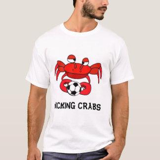 Camiseta golpeando el cangrejo con el pie, GOLPEANDO