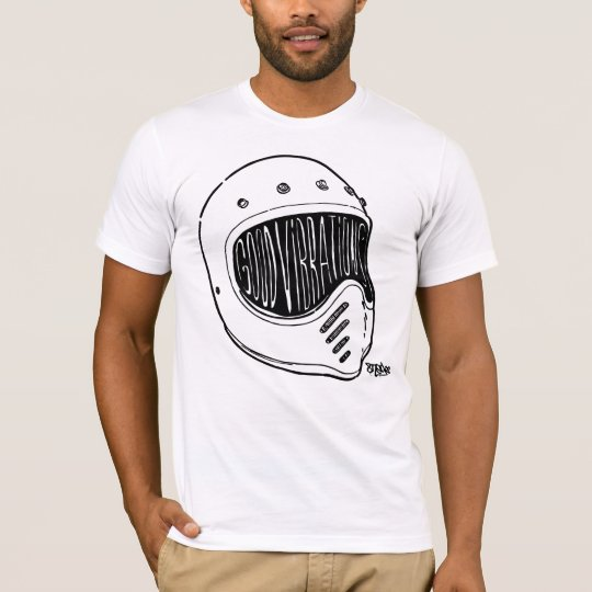 Camiseta Good Vibrations Mº0ne by 8negro.