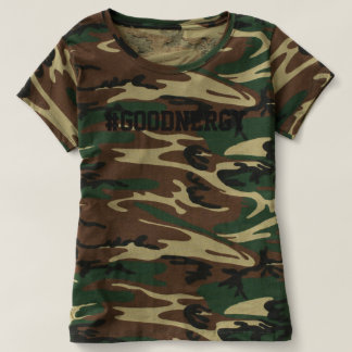 Camiseta #GoodNergy de Camo