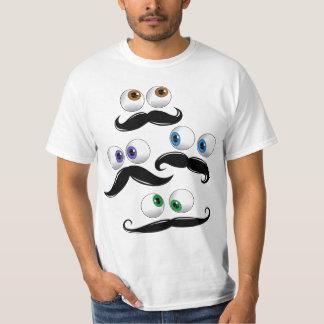 Camiseta Google observa con el bigote