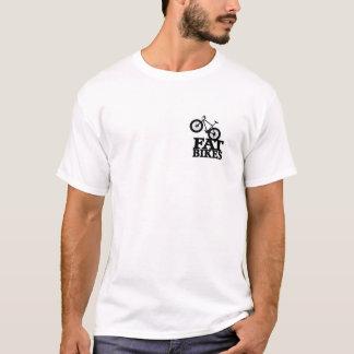 Camiseta gorda 2 de la bici echada a un lado