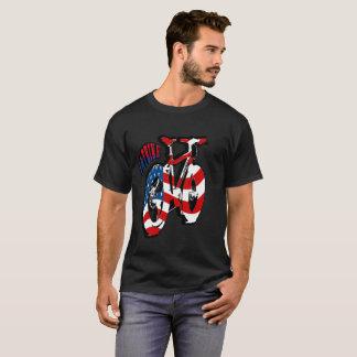 camiseta gorda de la bici
