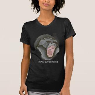 Camiseta gorilla2, RESPETAN EN PELIGRO
