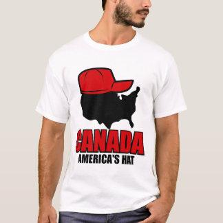Camiseta Gorra de Canadá Américas