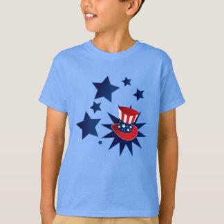 Camiseta Gorra y estrellas del tío Sam