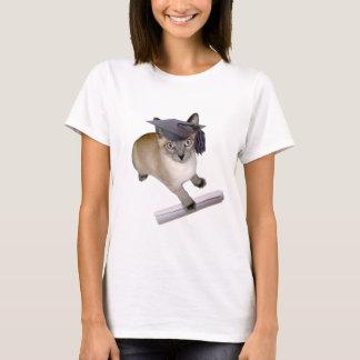 Camiseta Graduación del gatito