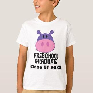 Camiseta Graduación personalizada graduado del preescolar