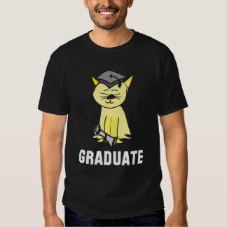Camiseta graduada de la graduación