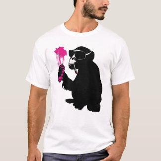 Camiseta graffiti monkey